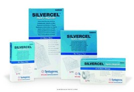 SILVERCEL Antimicrobial Alginate Dressing, Silvercel Drsng 2X2in, 1 BOX,... - $27.12