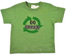 NWT GYMBOREE Recycle Go Green Appliqué T-Shirt 6-12-18 Help the Earth Tee - $12.99