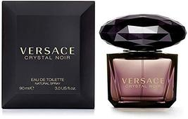 Versace Crystal Noir Eau De Toilette Spray For Women, 3 oz - $50.95