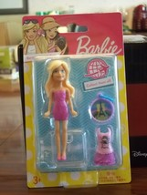 Paris, France miniature Barbie from the Barbie Travel Series, MIP - $6.00