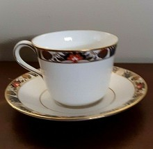 Royal Crown DERBY RUTLAND Cup and Saucer Set Pristine Condition - $18.05