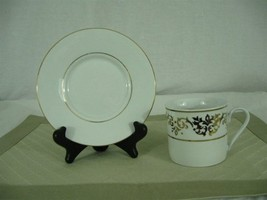 Tienshan Fine China Classic Gold Tea Cup and Saucer - $29.69