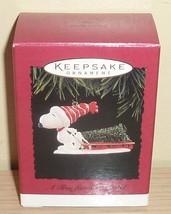 1996 Hallmark Ornament New in Box ~ A Tree For Snoopy - $12.82