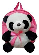 Cute Panda Children's Shoulders Bag Kids Plush Backpacks Pink - $22.32