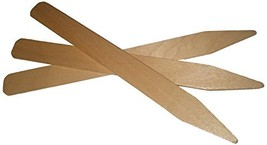 Wood Garden Labels Natural Wood Bedding Labels, 8 x 7/8-Inch, (5 stick L... - $1.98