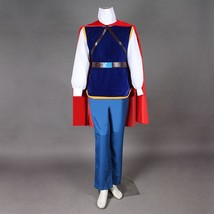 Snow White and the Seven Dwarfs Prince Cosplay Costume Men Halloween Costumes - $96.00