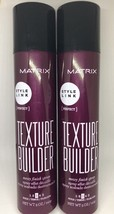 2 Matrix Style Link Texture Builder Messy Finish Spray 5 oz 2 bottles - $19.45