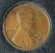 1929-S Lincoln Wheat Back Penny EF #1037 image 2