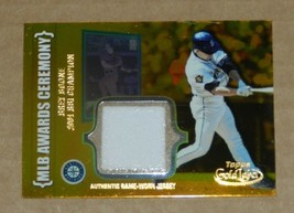 2002 TOPPS GOLD LABEL BRET BOONE JERSEY CARD CLASS 1 GOLD ACR-BRB2 - $2.97