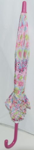 RainStoppers W104CHOWLS Multicolored Manual Open Umbrella Owls