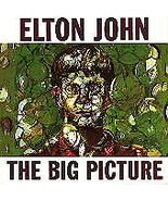 ELTON JOHN THE BIG PICTURE CD: GERMAN IMPORT: GOOD CONDITION, PLAYS WELL - $6.00