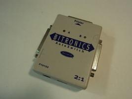 Belkin Bitronics AutoSwitch Share Printer Gray F1U122 - $12.08
