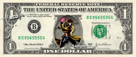 GAMBIT on a REAL Dollar Bill Marvel Cash Money Collectible Memorabilia C... - $8.88