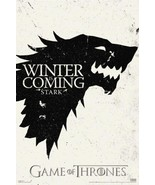 Game Of Thrones Winter Is Coming Stark TV Cool Wall Decor Art Print Post... - $21.00