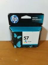 Hp 57 C6657AN Tri-Color Inkjet Print Cartridge Exp.  09/2014 - $14.35