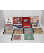 Lot of 14 Christmas CDs Harry Connick Jr. Nat King Cole Steven Curtis Ch... - $24.98