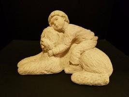 "Austin Sculpture 1984 Old English Sheep Dog ""Puppy Love II"" - $56.09"