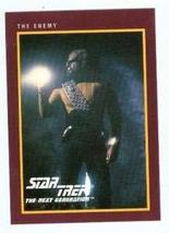 Star Trek The Next Generation card #188 The Enemy Work Michael Dorn - $3.00