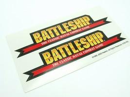 2002 Battleship Replacement Stickers No. 4730 - $3.99