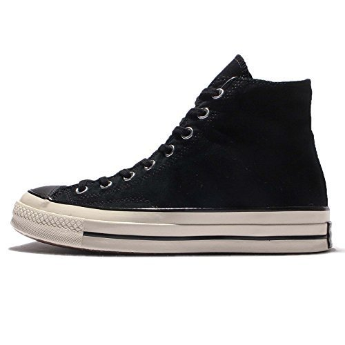 Converse Men's Chuck Taylor All Star 70, BLACK/GREY WHITE, 4 M US