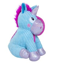 Corded Seamz Unicorn for Dog Soft Crinkle Sparkly Multiple Textures - £15.69 GBP