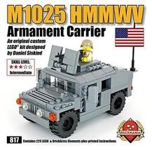 M1025 Humvee Emboldened: Marines Lego Custom Kit With Instructions, Cust... - $219.57