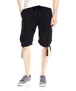 Southpole Men's Jogger Shorts W/ Cargo Pockets in Solid and Camo Colors - $23.10+