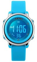 Kid Watch Multi Function 50M Waterproof Sport LED Alarm Stopwatch Digital Child
