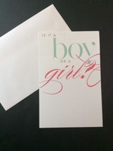 Is It A Boy Or Girl Baby Shower Gender Reveal Party Invitations 10 Cards... - $8.78