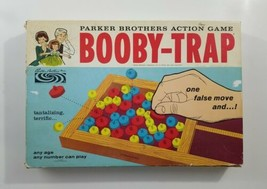 Booby Trap Board Game 1965 Parker Brothers - $65.45
