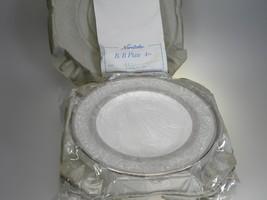 Noritake Yasmin Bread & Butter Plates Set of 4 NEW WITH TAGS Bone China ... - $42.97