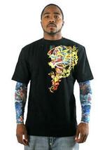 Kanji Premium Marca Hombre Negro Dragón Tatuaje Arte Camiseta Manga Larga L XL