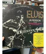 Elvis in person at the International Hotel - $55.00