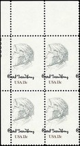 1731, Misperforated ERROR Plate Block of 13¢ Stamps Mint NH - Stuart Katz - $45.00