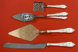 Rose Point by Wallace Sterling Silver Dessert Serving Set 4pc Custom Made - $349.00