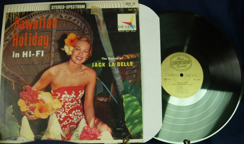 Jack La Delle - Hawaiian Holiday in Hi-Fi - Spectrum Gold Label SDLP 53
