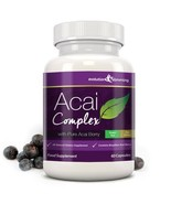 Acai Berry Complex 455mg 60 Capsules (1 Month Supply) - $9.09