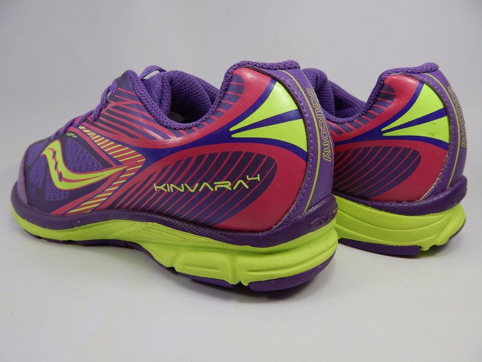 Saucony Kinvara 4 Girl's Youth Shoes Size US 6.5 B (6.5 Y) EU 39 Purple 80300-2
