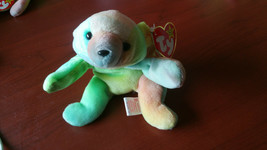 1998 Ty Beanie Babies Sammy The Bear Tie Die RARE Retired GASPORT MANY E... - $5.86