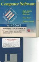 "Windows W18 Backgammon on Floppy Disk IBM 3.5"" Flagg's Floppies Vintage ... - $7.91"