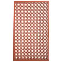 Cactus Mat 2530-C5BX 36' x 60' Red Rubber Restaurant Kitchen Floor Mat - $61.60