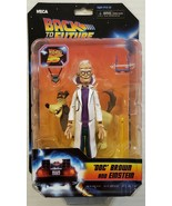 NECA Back to the Future Doc Brown + Einstein Toony Classic Action Figure - $19.79