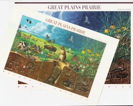 Nature In America USPS Stamps Sheet MNH Scott 3506 Great Plains Prairie ... - $16.87