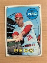 1969 Tony Perez Topps Baseball Card #295 (Original) - $9.90