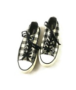 Converse All Star Mens Shoes Black White 5 - $19.79