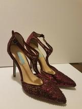 Betsey Johnson Size 7.5M Eliza Stiletto Heel Women's Pointed Toe - $34.65