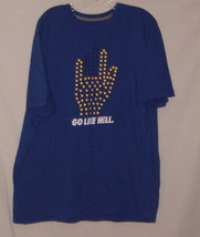 Nike T Shirt Go Like Hell Blue Regular Fit 100% Cotton Graphic T Size XXL NEW - $9.49