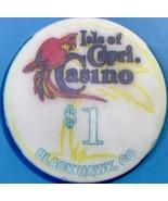 $1 Casino Chip, Isle of Capri, Black Hawk, CO. V74. - $4.29