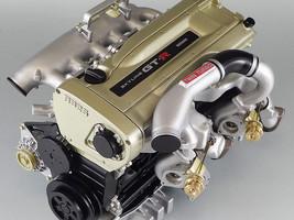 NISSAN SKYLINE GTR R34 RB26DETTZ SPEC Nür. TURBO ENGINE 1/6 SCALE MODEL ... - $456.00