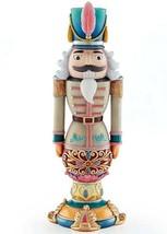 "Lenox Merry and Bright Gray Nutcracker Figurine 12.5""H #890272 New In Box - £109.63 GBP"